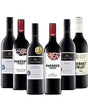 ダブル金賞受賞ワイン入り! オーストラリアの濃い赤ワインだけを集めた辛口赤ワイン6本セット(赤750mlx6) [オーストラリア/Amazon.co.jp限定/winery direct]