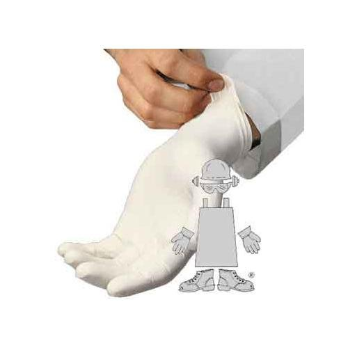 The Safety Zone GREP-MD-1 100 Pack Safety Zone Powder Free Medical Grade Latex Exam Gloves - Medium - 5 mil Thick, Latex (Pack of 100)