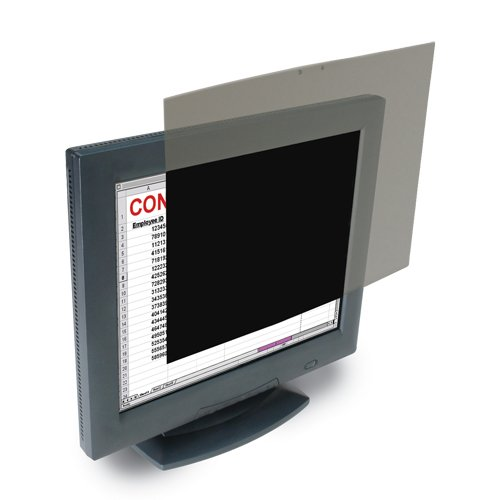 Kensington Privacy Screen for 19inch 5:4 LCD Monitors (K55781WW),Black