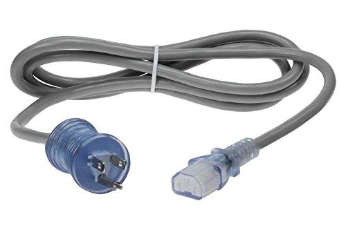 SF Cable 10ft 18 AWG Universal Hospital Grade Power Cord - IEC320 C13 to NEMA 5-15P, 15Amp, 125Volt AC