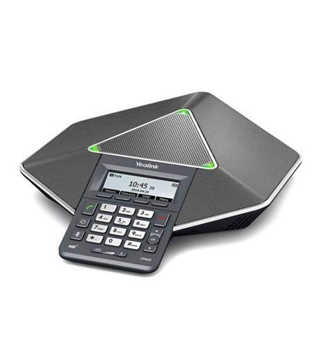 Yealink CP860 + CPE80 x2 Diamond HD IP Conference Phone, PoE, 5-way conferencing