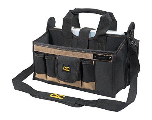 Custom Leathercraft Custom LeatherCraft 1529 16-Pocket, 16-Inch Center Tray Tool Bag