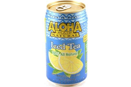 Aloha Maid, Tea With Lemon, 11.5 Fl Oz, 6 Pack