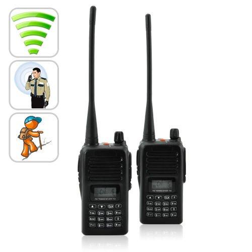 ChinaVasion Long Range Walkie Talkie Set (UHF, 110v) Long Distance walky Talky System