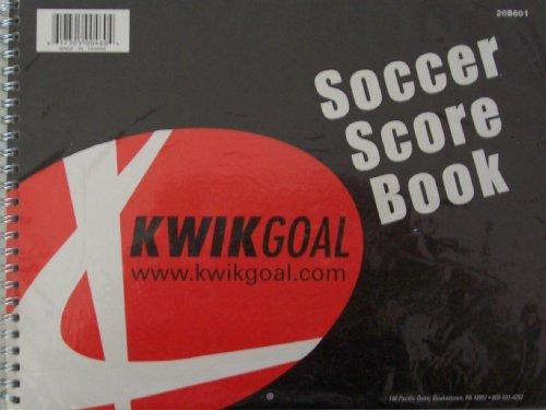 Soccer Score Book [ 20B601 ] Kwikgoal