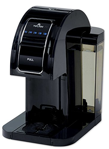 Touch Single Serve Coffee Brewer - Black Coffee Maker with Full K-Cup Pod Compatibility & Rapid Brew Technology - T314B
