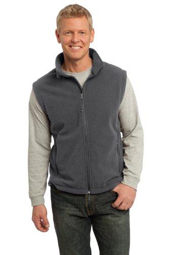 Port Authority Men's Value Fleece Vest L Iron Grey