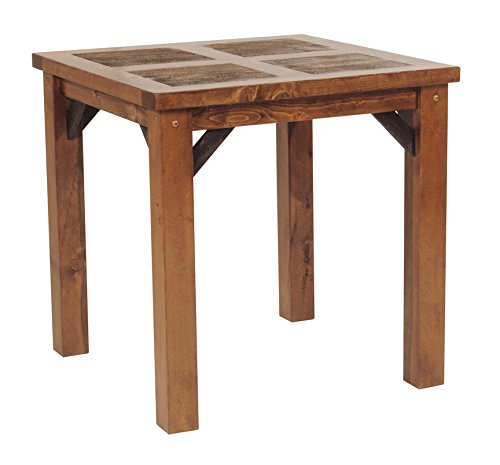 "Mountain Woods Furniture The Wyoming Collection Bistro Table, 4'/36"" High"