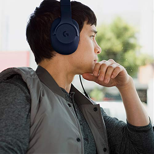 Logitech G433 7.1 Wired Gaming Headset with DTS Headphone: X 7.1 Surround for PC, PS4, PS4 PRO, Xbox One, Xbox One S, Nintendo Switch – Royal Blue