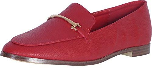 Catherine Malandrino Women\'s Slip-On Loafer, Red, 10 B(M) US'