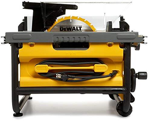 DEWALT DW745-GB Heavy Duty Table Saw, 250 mm