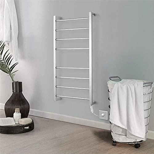 WEDF Toallero de aluminio portátil con 8 barras, toallero de pie libre,Toallero...