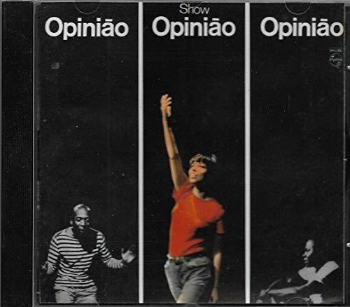 Nara Leão Zé Keti João Do Vale - Cd Show opinião - 1965 - 1ª Edição