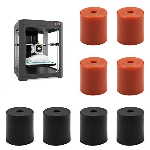 Colonne di Livellamento, 8 Pezzi Accessori per Stampanti 3D Adatte per Ender 3 CR-10 CR-10s Stampante 3D, Colonna di Livellamento per il Letto Caldo della Stampante 3D