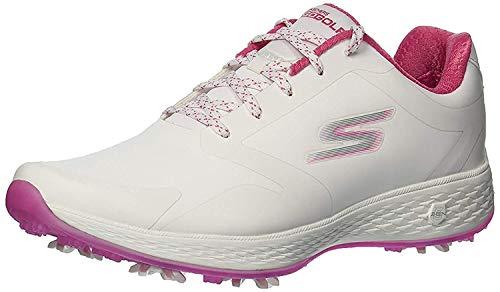 Skechers 14869-WPK_36, 5, Chaussures de Sport Femme, White Pink, 36.5 EU