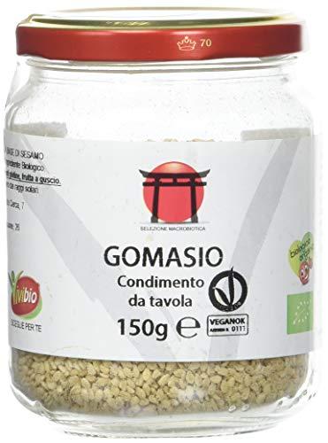 Vivibio Gomasio Semi Sesamo Tostati - 150 g