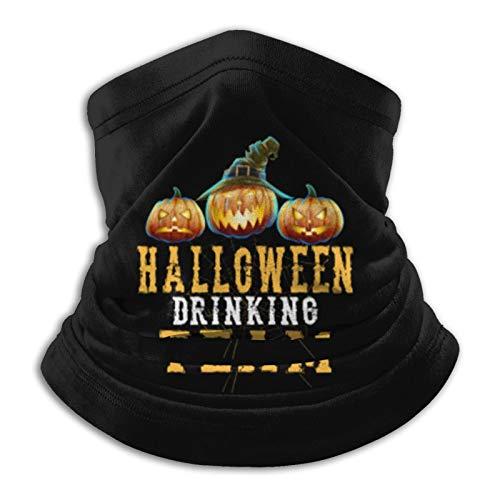 Drinking Team Funny Neck Gaiter Tube Mask Headwear, Motorcycle Face-Mask Face Scarf, Balaclava Black