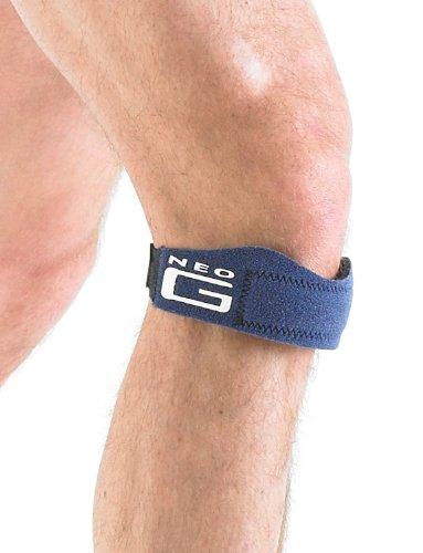 Neo G - Cinta de soporte para la rótula (con almohadilla de silicona), tamaño universal, unisex