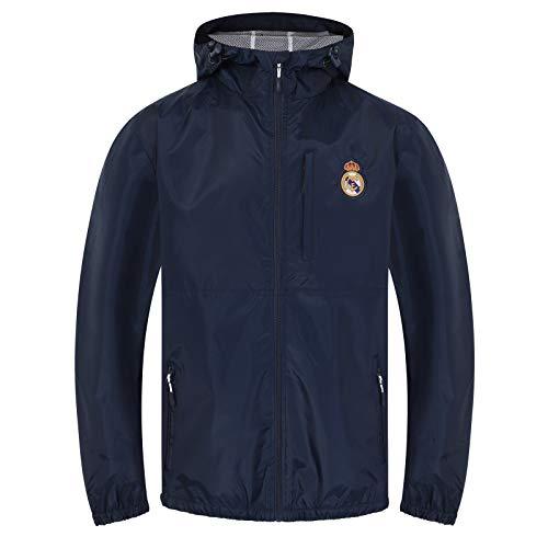 Real Madrid - Herren Wind- und Regenjacke - Offizielles Merchandise - Geschenk für Fußballfans - XXL