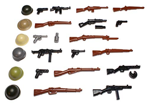 Brickarms WW2 WWII Armi Set Custom Armi per Figure Lego