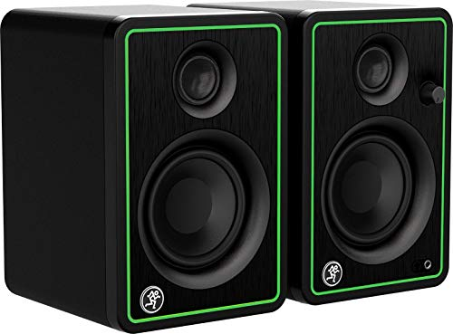 Mackie CR-X Series, 3-Inch Multimedia Monitors with Professional Studio-Quality Sound - Pair (CR3-X) (Renewed)