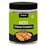 NutroActive Keto Cheese Crackers Extremely Low Carb Snacks - 175g