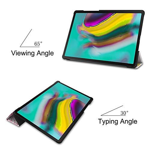 Lobwerk Case für Samsung Galaxy Tab S5e SM-T720 10.5 Zoll Schutzhülle Tasche mit Standfunktion und Auto Sleep/Wake Funktion