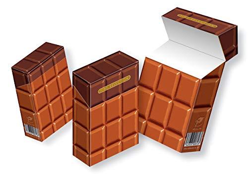 Süße Zigarettenschachtelhüllen ohne Kalorien Indo slipp overall Motiv: Schokolade /// 3 STÜCK (047 Schokolade, 3 Stück)
