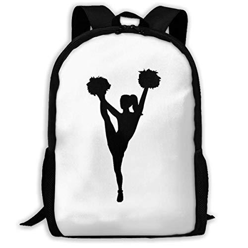 XCNGG Cheerleader Printed Travel Backpack,Waterproof Lightweight Laptopbag Have Two Side Pockets