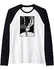 Dominatrix BDSM Rope Bondage Submissive DOM Fetish Adult Camiseta Manga Raglan