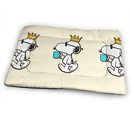 YAGEAD Huge Pet Pad, Snoopy King Soft Dog Bed Mat, Anti-Slip Pet Kennel Bed for Oversized Pet,31'x21'-8N