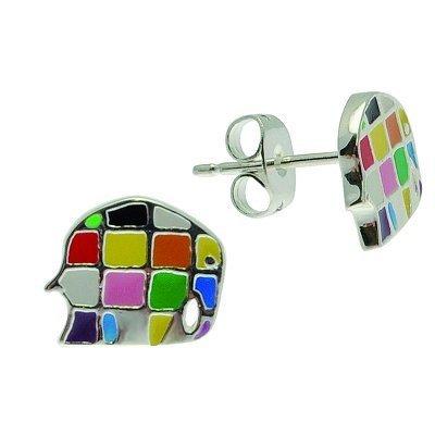 Pixi bijoux Kids - Elmer - puces d'oreilles argentées
