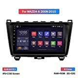 Nav Android 8.1 estéreo navegación del GPS para Mazda 6 2008-2015 9 Pulgadas de Pantalla táctil...