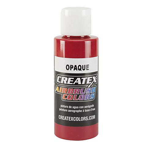 Createx Airbrush Colour Opaque Red 4oz (120ml) Bottle
