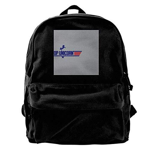maichengxuan Canvas Backpack TopTop Mix Rucksack Gym Hiking Laptop Shoulder Bag Daypack for Men Women
