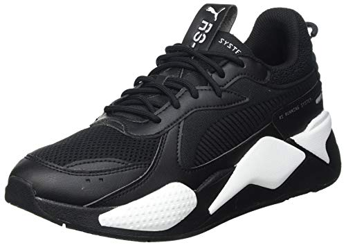 Puma RS-X Pop, Zapatillas Unisex Adulto, Negro Blanco, 48.5 EU
