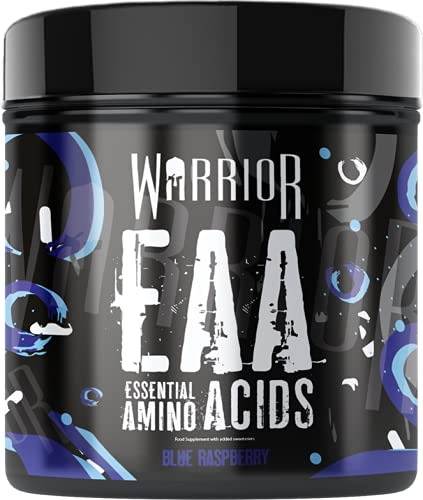 Warrior EAA Essential Amino Acids 360g - Blue Raspberry | Warrior Supplements