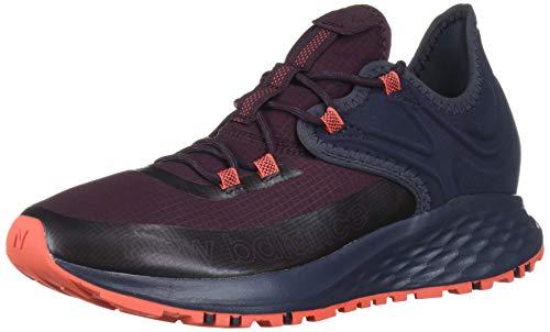 New Balance Men's Fresh Foam Roav Trail V1 Running Shoe, Henna/Outerspace, 10.5 D US