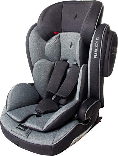 Osann Kinderautositz Flux Isofix, Gruppe 1/2/3 (9-36 kg), Autositz Universe Grey