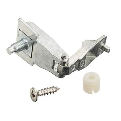 Preisvergleich Produktbild H HILABEE Für FIAT 500 Chrom Türaußengriff Scharnier Reparatur Werkzeugsätze 51964555 L / R