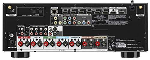デノンDenonAVR-X2700H8KUltraHDHDR10+eARC7.2chAVサラウンドレシーバー/ブラックAVR-X2700HK