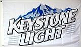 YeeATZ Mountfly Keystone Light Beer Flag Banner 3x5Feet Man Cave Decor