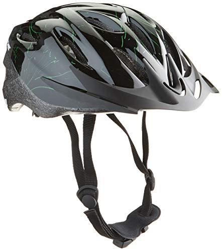 FISCHER Erwachsene Fahrradhelm, Radhelm, Cityhelm, Schwarz grün, L/XL