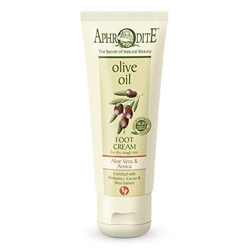 Foot Cream avec Aloe Vera et Huile D 'ol Ive - Tube avec 75-ml
