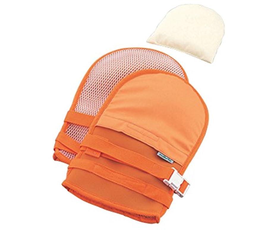 チューリップパッチ放棄抜管防止手袋 中オレンジ /0-1638-42