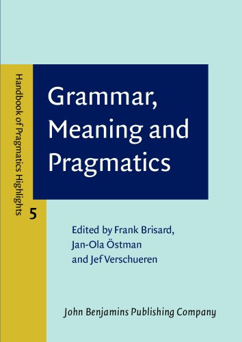 Grammar, Meaning and Pragmatics (Handbook of Pragmatics Highlights (HoPH), Band 5)