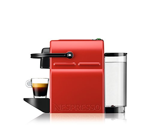 Nespresso BEC120RED Inissia Espresso Machine by Breville, Red