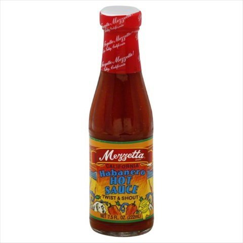 Mezzetta, Sauce Habanero Hot Calif, 7.5 OZ (Pack of 3)
