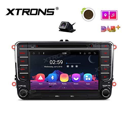 'Xtrons 7Pantalla táctil Auto Radio Reproductor de DVD Android 8.1DE Octa Core Auto estéreo untersützt 4K vídeo WiFi 4G Bluetooth 2GB de RAM 16GB ROM Dab & OBD2para Volkswagen |sko da|Seat