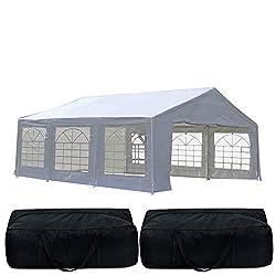 Ft. D Steel Pop Up Party Tent